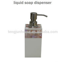 Canosa shell mosaic bathroom Pump dispenser stainless steel soap dispenser