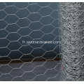 Filet hexagonal de fabrication de volaille
