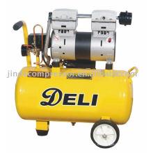 Compresor de aire libre de aceite silencioso de 850W