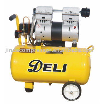 850W noiseless oil free air compressor