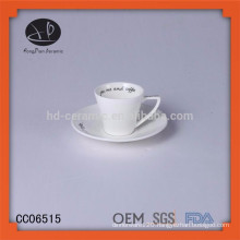 New products wholesale tea coffee cups/mugs porcelain cheap