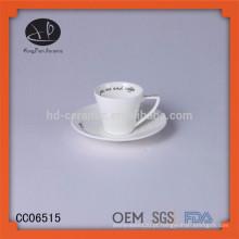 Novos produtos por atacado chá chávenas de café / canecas de porcelana barato