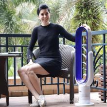 Pulsador de teclas LED Piso de 18 pulgadas Sin aspas Refrigerador de aire de ventilador de torre con control remoto