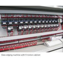 9 motors glass straight line edging machine SZ-ZB9 from China