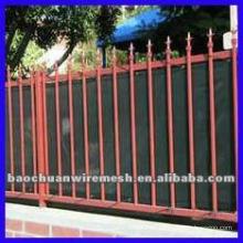 Electrostatic spray cuadrado postal casa decorativa utilizando cerca