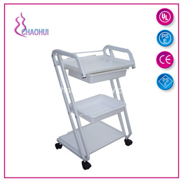 Metalen Trolley Met Plastic Drawers