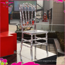 plastic/resin royal chair for rental