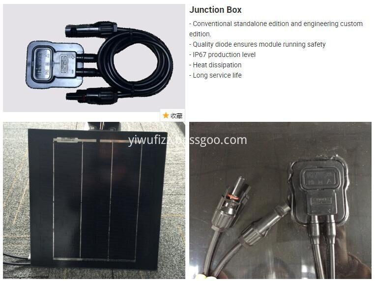 Emergency Solar Home Appliance System