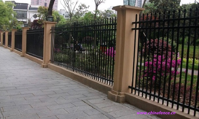 Decorative Zinc Fence