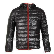 Italia de nylon brillante chaqueta hombres