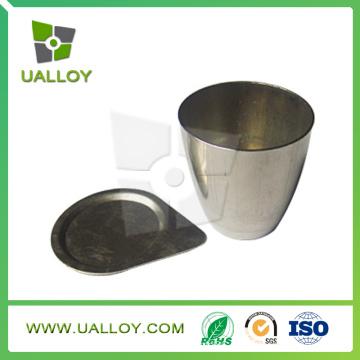 Crisol de níquel crisol y puro (30ml, 50ml, 100ml)