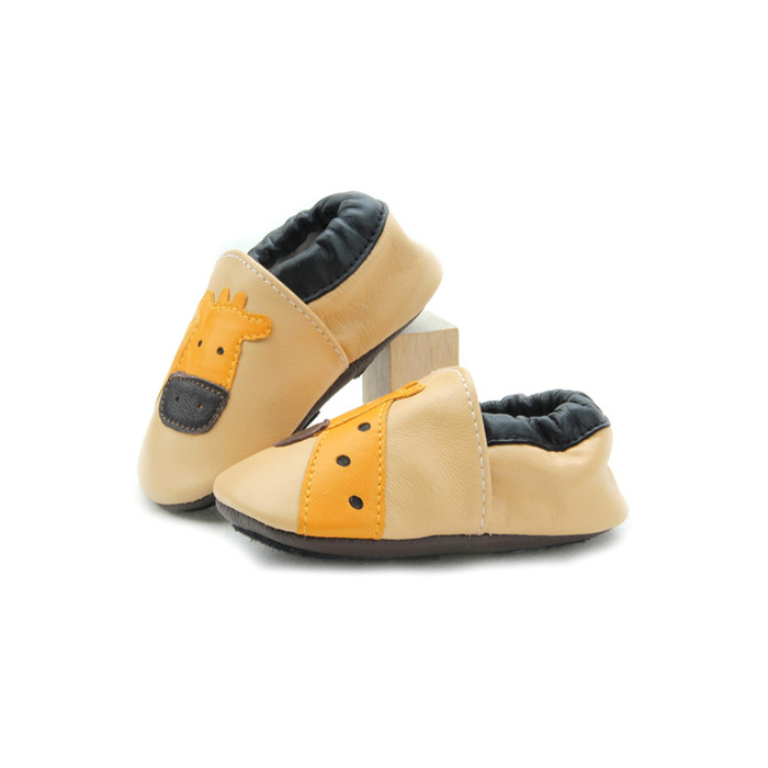 Cartoon Baby Soft Leather Shoes