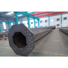 OEM for Steel Electric Pole 169KV Electric transmission Steel power poles supply to Czech Republic Factory