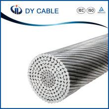 Câble aérien ACSR renforcé par acier standard de conducteur aérien d'ASTM de câble aérien