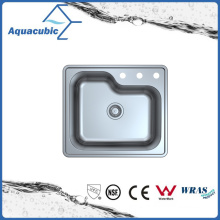 Above Counter Stainless Steel Moduled Kitchen Sink (ACS 6359M)