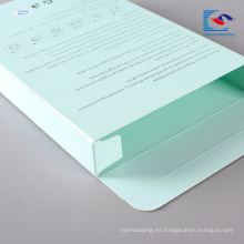 caja de maquillaje de papel máscaras de cuidado personal al por mayor barato