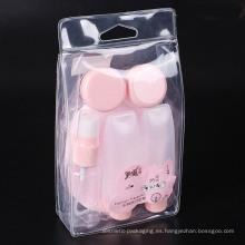 Botella de bomba de viaje cosmética de aerosol pequeña botella (PT06)