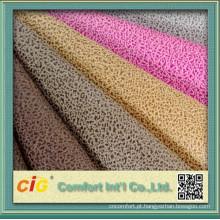 Tecido de camurça sintética recém-projetado da China