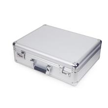 Requintado multipurpose prata alumínio liga caixa instrumento