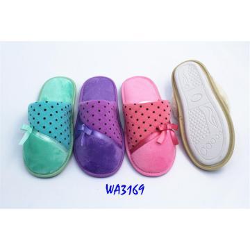 Women's Seamed Upper Binding Indoor Slippers