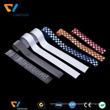 Bande réfléchissante de PVC de sécurité colorée