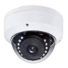 Câmera de rede dome 3MP HD IR à prova d'água