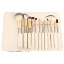 12 Stück Private Label Make-up Pinsel mit Brieftasche