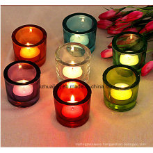 Hot Sales Different Sizes Round Glass Candle Jars Candle Holders