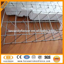 Galvanized steel wall panels