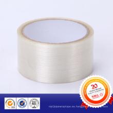 Cinta de fibra de vidrio de color blanco para unión general