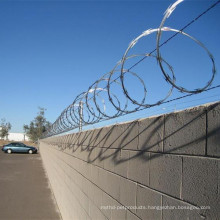 Heavy Galvanized Razor Barbed Wire/Concertina Razor Wire Fence