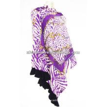 100% Kaschmir bedruckter Schal