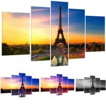 Eiffel Tower Landscape 3d Canvas Art