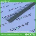 China Beads fábrica L em forma de parede de retenção galvanizado canto de contas