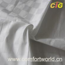 Linge de lit en tissu Tissu de literie avec coton