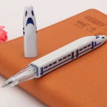 Train Shape Ballpoint Pen with Light