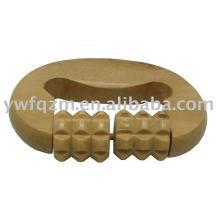 Massageador de palma de madeira