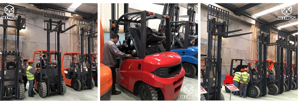 wings 3.5tons battery forklift