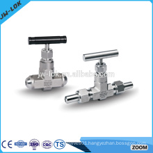 Air stainless steel flow control needle valve