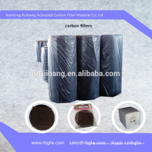 no tejido carbón activado carbón activado fibra de carbón activo fieltro para recuperación de solvente / tratamiento de agua / limpieza de aire / adiabático