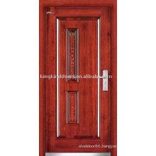 Exterior Steel Wood Door (JKD-236) Steel Armored Door For Strong Security Design