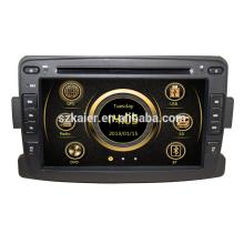Wince 6.0 Fabricant 7 '' Voiture Multimédia Lecteur DVD Système pour Renault Logan / Sandero / Duster 2014 2015 USB SD DVB-T Vente Chaude