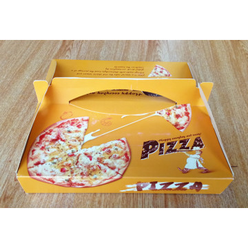 Boîte à pizza en papier imprimé sur mesure