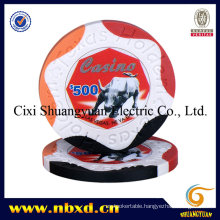 9.5g 4-Tone Clay Sticker Chip (SY-C12)