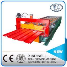 Populäres Design Galvanized Roofing Sheet Roll Forming Machine