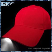 Trade Assurance personnalisé personnalisé classique lumière chapeau LED avec une qualité élevée