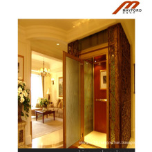 Machine Roomless Home Elevator with Luxury Cabin