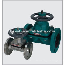 DIN3352 Rising Stem Resilient Seated Gate Valve