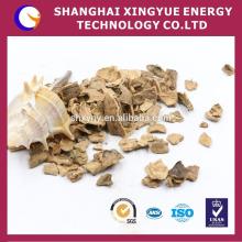 Matériau filtrant de coquille de noix de haute performance / grenaillage de coquille de noix