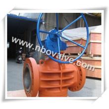 """Válvula de conexão de dreno industrial do volante (X247-16 """")"""